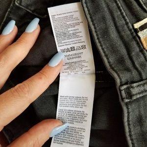 Topshop Jeans - Topshop Moto Jamie High Rise Side Stripe Jeans